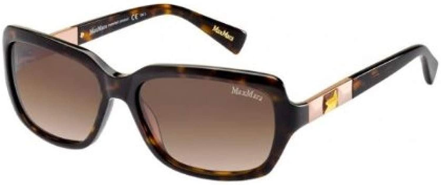 MAX MARA SUNGLASSES HOLLY I 086 H7 DARK HAVANA