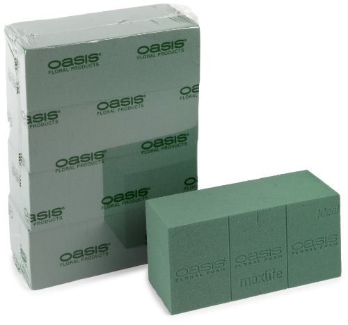 Oasis Ideal Floral Foam Maxlife (box contains 4 Bricks)