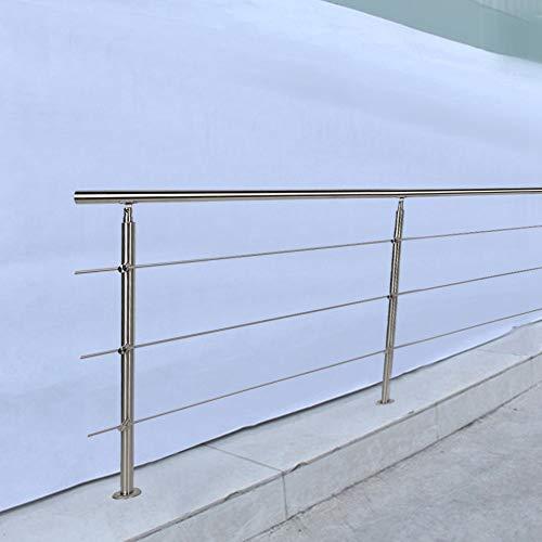 Pasamano de la Escalera 150 x 102,5cm Barandilla de Acero