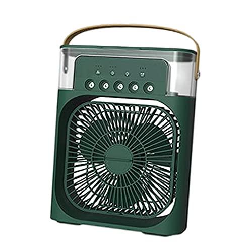 NC Ventilatore Portatile per Condizionatore d'Aria Ventilatore per Scrivania Personale di Raffreddamento dell'Aria - Verde