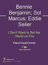a world on fire sheet music