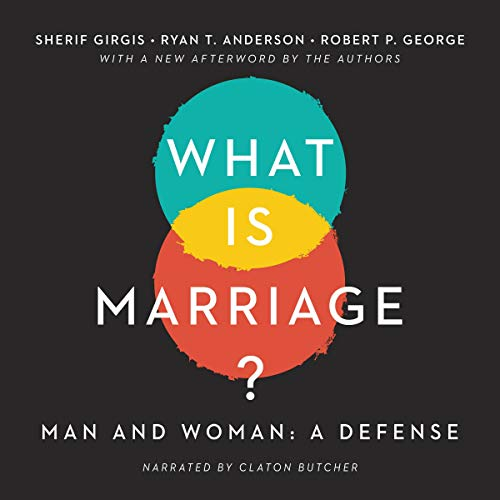 What Is Marriage?  By  cover art