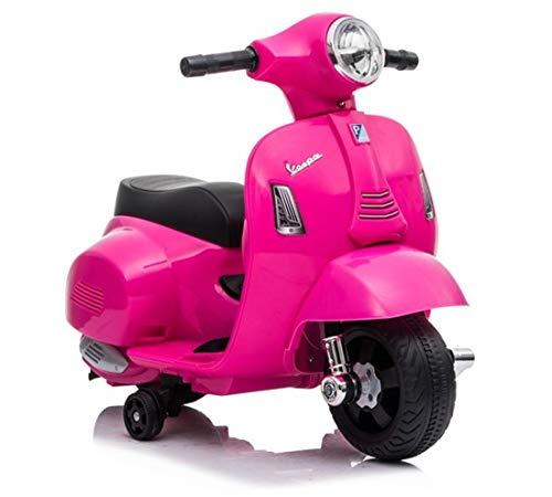 Lean Elektroroller Vespa GTS 300 Mini 6V Pink rosa Motorroller Kinderroller elektrisch
