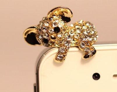 @MIZA『iPhone&スマホ用ピアスイヤホンジャックカバー抱っコアラ』