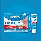 Flexitol Lip Balm, 0.35 Ounce Tube (3 Pack)