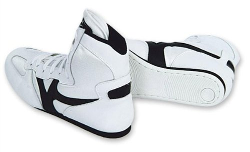 M.A.R InternationalLtd Wrestling-Schuhe, Trainingsstiefel, Turnschuhe 54 weiß/schwarz