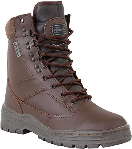 All Leather Kombat UK Bottes De Patrouille Homme Taille 5