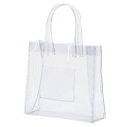 抗菌 透明ビニールバッグ Sサイズ