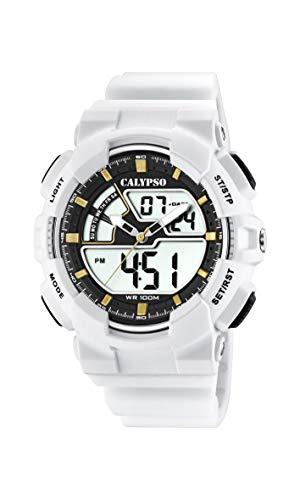 Calypso Watches Reloj Analógico-Digital para Hombre de Cuarzo con Correa en Plástico K5771/1