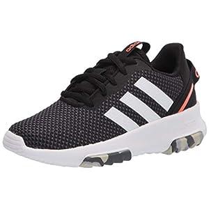 adidas Racer TR 2.0 Running Shoe, Black/White/Grey, 11 US Unisex Little Kid