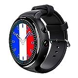 smart watch Schermo A Colori Impermeabile con Cardiofrequenzimetro, Pedometro Tracker attività Sonno Monitor SMS Call Notification per iOS Android