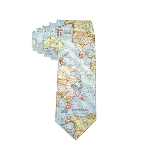 World Map Tie