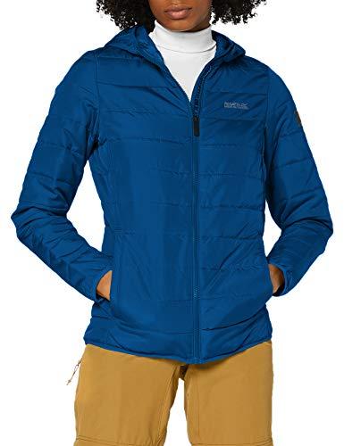 Regatta Helfa Veste matelassée à capuche pour femme XL Opale bleue.