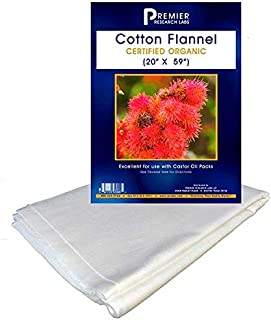 Organic Cotton Flannel (Use with Castor Oil Kit)