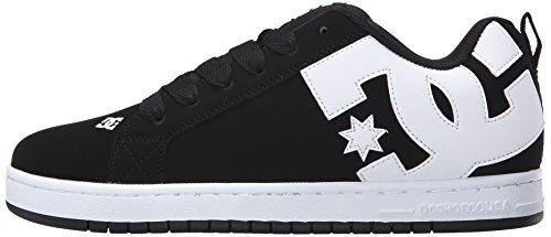 DC Herren Court Graffik Skate Schuh, Schwarz (schwarz), 50 EU