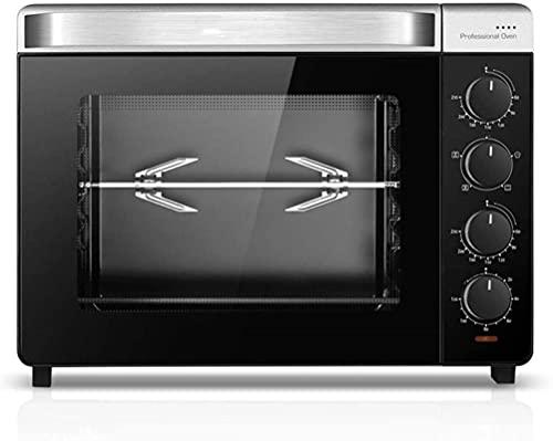 Mini horno 32L, temperatura ajustable a 230, temporizador durante 120 minutos, horno eléctrico doméstico, multifunción, 1600 vatios de potencia