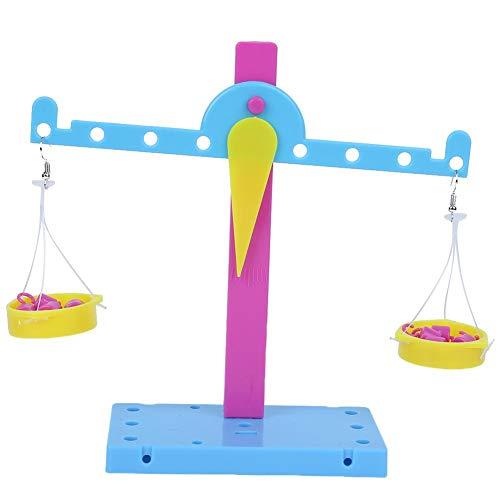 Giocattolo per bilanciere fai-da-te, giocattolo per esperimenti scientifici su scala di principi a leva con materiali manuali, invenzione di produzione di tecnologia Set di giocattoli per bambini(#1)