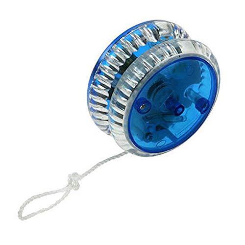 Hilai Professionelle Yoyo Magie Led Yoyo Spielzeug aus Kunststoff Yo Yo Kugel Fit für Kinder Erwachsene Blau Yo-Yos