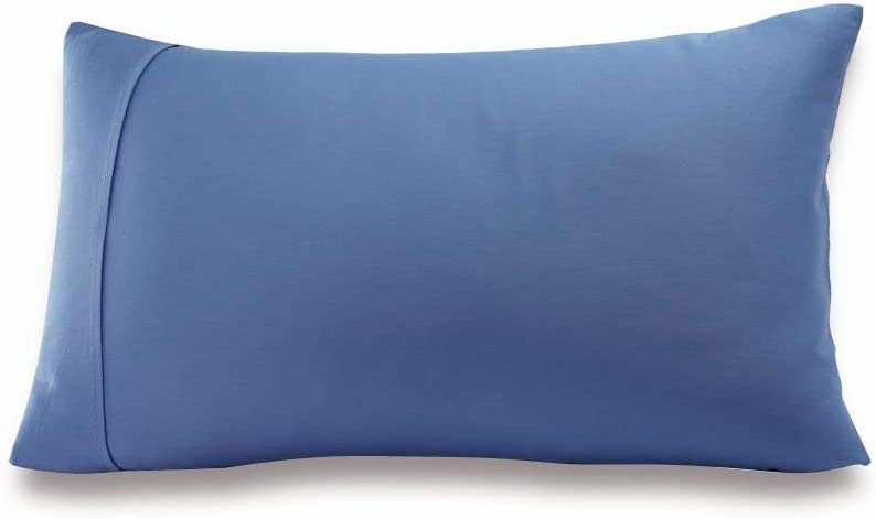 Greenbuds Organic Cotton Kids Pillow Cover (Blue)