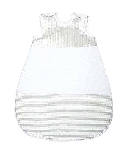 Vizaro - Saco de dormir Recién Nacido (0-4 meses) 100g - 4,5Tog - Invierno, Entretiempo - Algodón Puro - Hecho UE, OekoTex - Líneas