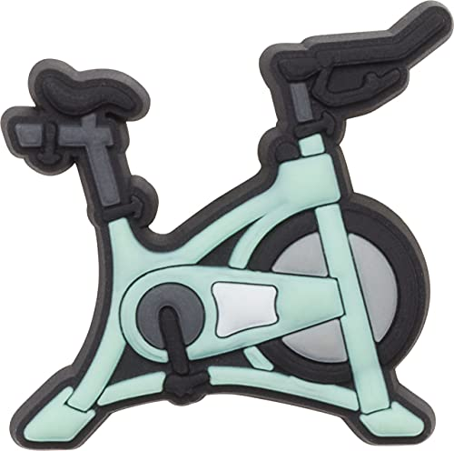 Crocs Jibbitz Sports and Leisure Shoe Charm | Personalize with Jibbitz for Crocs Spin Bike One-Size