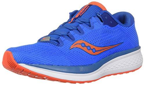 Saucony Jazz 21, Zapatillas de Running Hombre, Azul (Blue/Orange 36), 45 EU