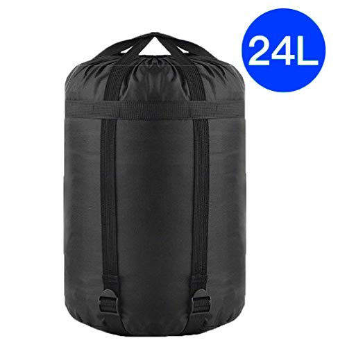 TINANA Compression Stuff Sack, Waterproof Sleeping Bags Storage Stuff Sack Organizer, Great for Backpacking and Camping Hiking (1 Pack)