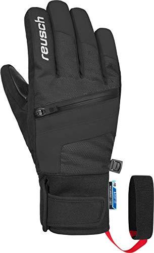 Reusch Jungen Theo R-TEX XT Junior Handschuhe, Black/White, 5