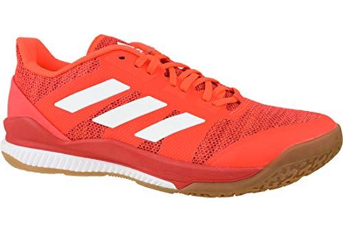 adidas Herren Stabil Bounce Handball Shoes, red, 44 2/3 EU