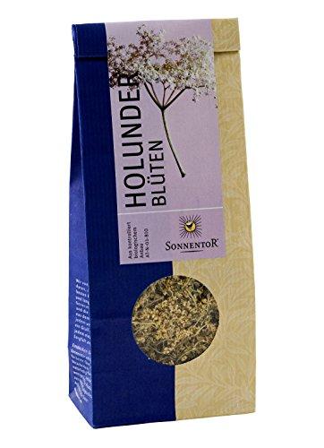 Sonnentor Tee Holunderblüten lose, 1er Pack (1 x 80 g) - Bio