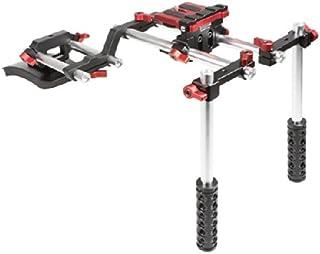 Kamerar K1101 Socom Schulterstativ (15mm Rohrsystem, individuell verstellbar, geeignet für DSLR Kameras)