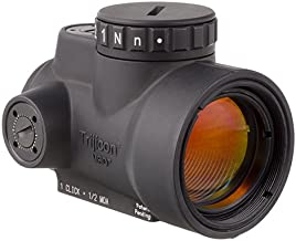 Trijicon MRO-C-2200003 1x25mm Miniature Rifle Optic (MRO) Riflescope with 2.0 MOA Adjustable Red Dot Reticle (Without Mount)