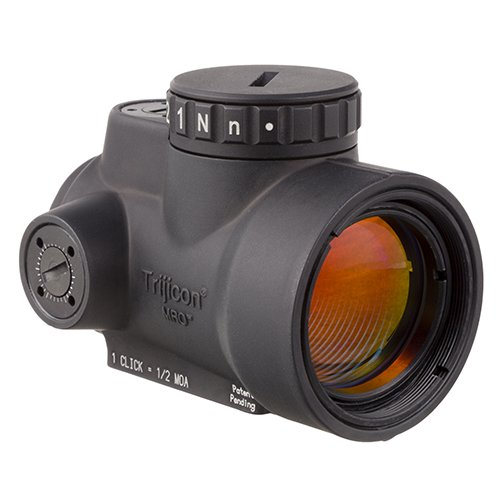 Trijicon MRO-C-2200003 1x25mm Miniature Rifle Optic (MRO) Riflescope with 2.0 MOA Adjustable Red Dot Reticle (Without Mount)