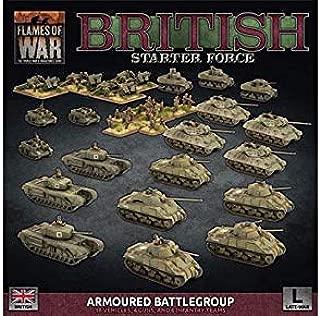 Flames of War: Late War: British: Armored Battlegroup Starter Force (BRAB12)