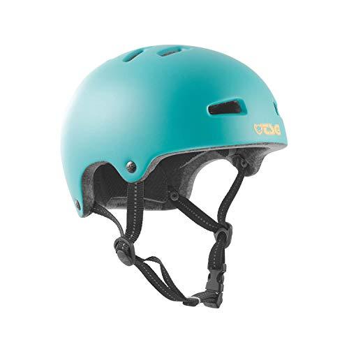 TSG Kinder Nipper Maxi Solid Color Helm, Satin Cauma Green, XXS/XS