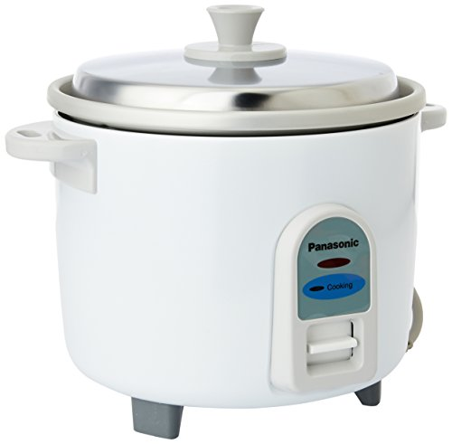 Panasonic SR-WA10 550-Watt Automatic Rice Cooker(2.7 Liters,White)
