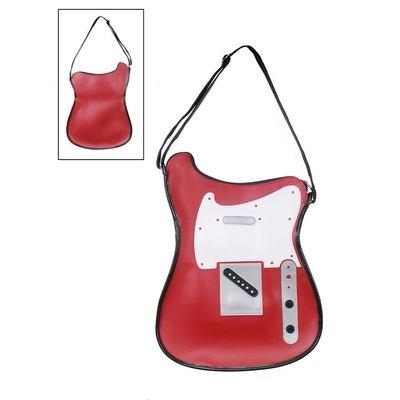 Bolso Forma Guitarra Telecaster Rojo