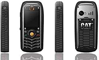 CAT B25 Ultra Rugged Dual Sim Phone - 512MB, 2G, Black