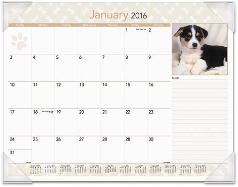 AT-A-GLANCE Puppies Monthly Desk Calendar 2015, 22 x 17 Inch Page Größe (DMD166-32) by At-A-Glance B018REGNP6 | Ausgewählte Materialien