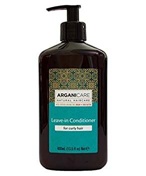 Arganicare Leave in Conditioner for Curly Hair Enriched with Organic Argan Oil and Shea Butter  13.5 Fluid Ounce