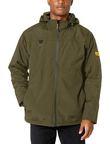 Caterpillar Chinook Waterproof Jacket, Army Moss, X-Large