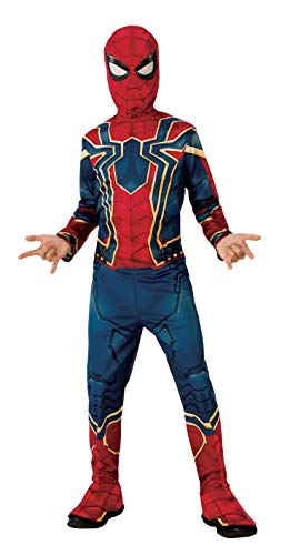 Rubies Iron Spider Infinity War - Disfraz  para niño, S (3-4 años)