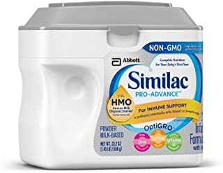 Similac Pro-Advance (Hmo) Non-GMO Infant Formula Powder (Pack of 2)