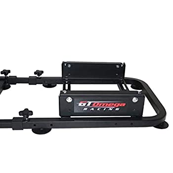 GT Omega Racing Rear Seat Frame for Steering Wheel Stands to Expand into Racing Simulator Cockpit for Ultimate Gaming Console Experience - Gaming Chair Accessories