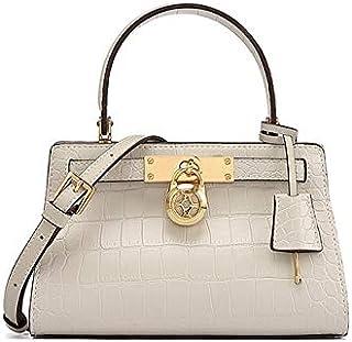 FEF FEF Fashion Damen Tasche Schulter Umhängetasche Kleine Krokodil Textur Leder Handtasche