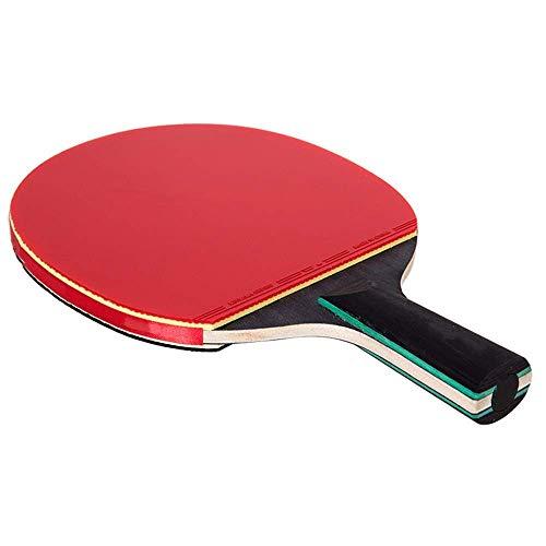 JIANGCJ bajo Precio. Ping Pong Paleta Tenis Raqueta de Tenis único Tiro de Seis Estrellas Disparo Recto Concurso de Dos Caras de Diario antiadhesivo sacudir Las Manos agarras