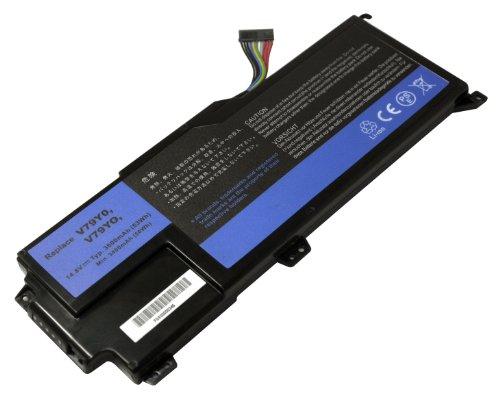 Power Smart® Li-Ion 14,80 V 3600 mAh batterie v79y0, v79yo pour Dell XPS 14z, XPS 14z-L412 X, XPS 14z L412z, XPS L412 X, XPS L412z