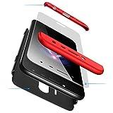 AILZH Coque Samsung Galaxy J7 2017 Étui+Film de Verre trempé 360 degrés Housse PC Hard Shell Anti-Choc 360° Full-Cover Case...