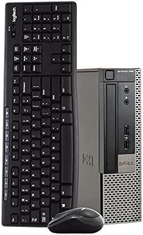 Dell OptiPlex 990 Ultra Small Space Saving PC Desktop Computer, Intel Quad Core i5, 8GB RAM, 500GB HDD, Windows 10 Pro, New 16GB Flash Drive, Wireless Keyboard & Mouse, DVD, WiFi (Renewed)