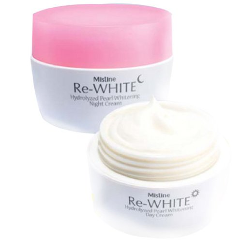 Mistine Re-white Hydrolyzed Pearl Whitening Day&Night Cream